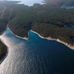 many bays of Pakleni islands