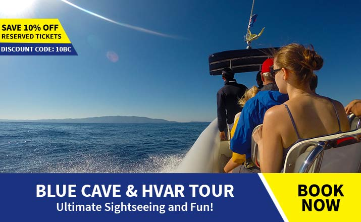 Blue cave and Hvar tour from Split