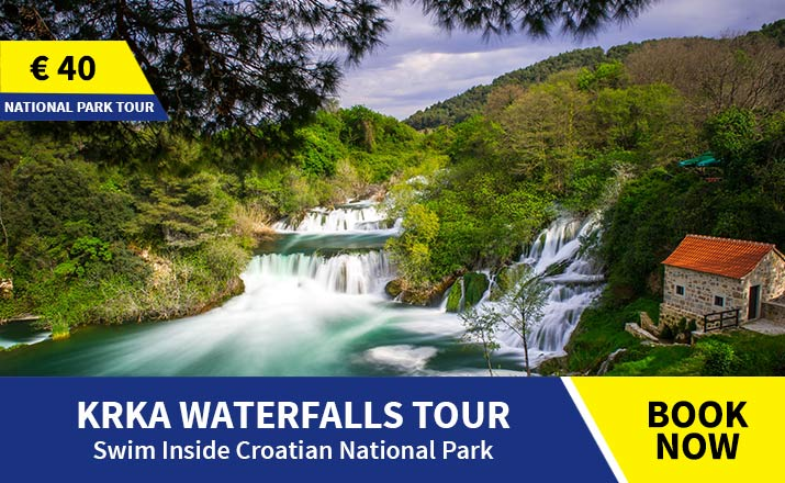 Guided tour of Krka from Split