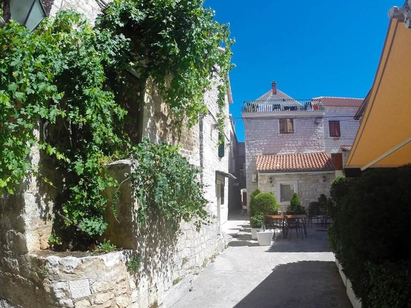Charming streets of Trogir