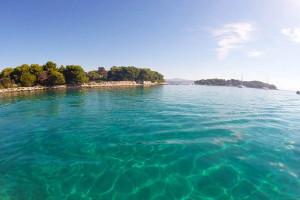 Clear sea of Blue lagoon