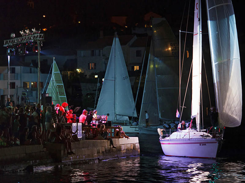 Great view of Pequena Regata Nocturna