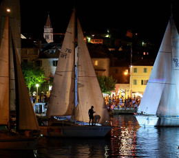 Postira ready for Pequena Nocturna Regata