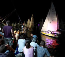 Sailing boats - Pequena Regata Nocturna