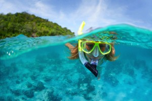 swimming and snorkeling destination