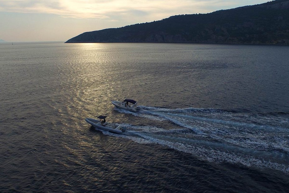 Maestral and Lolivul Speedboats