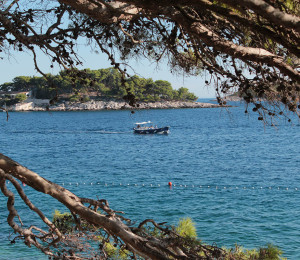 View on the little islands near Hvar