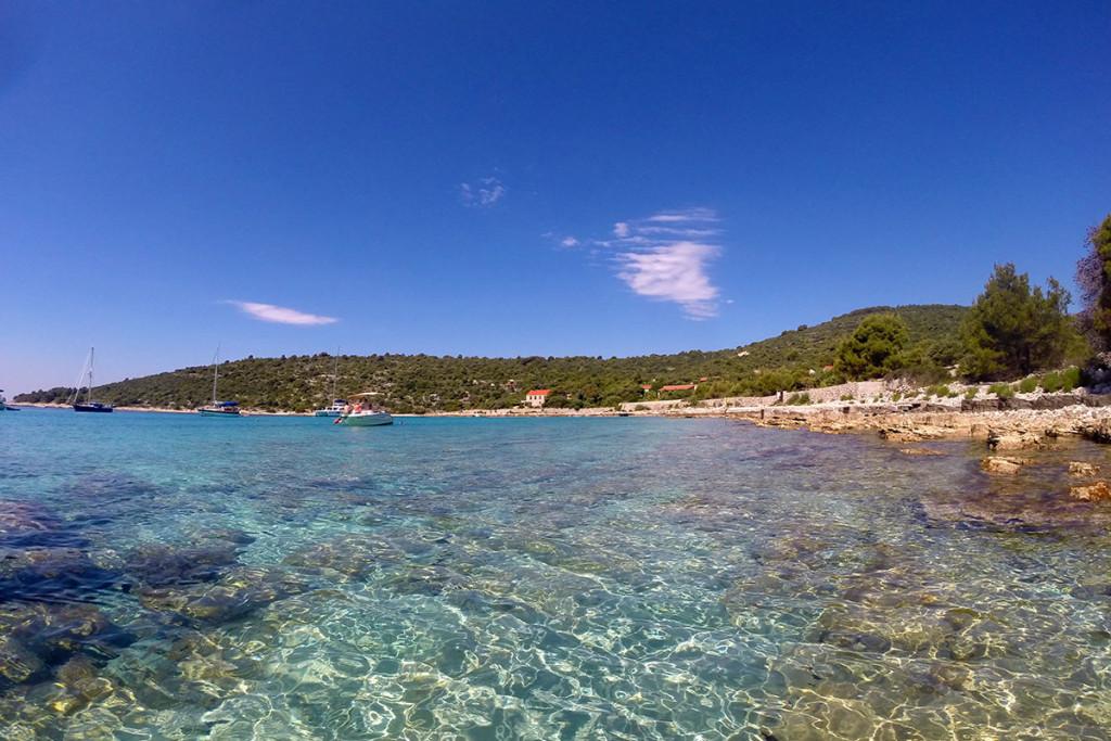 Beautiful Blue Lagoon Croatia