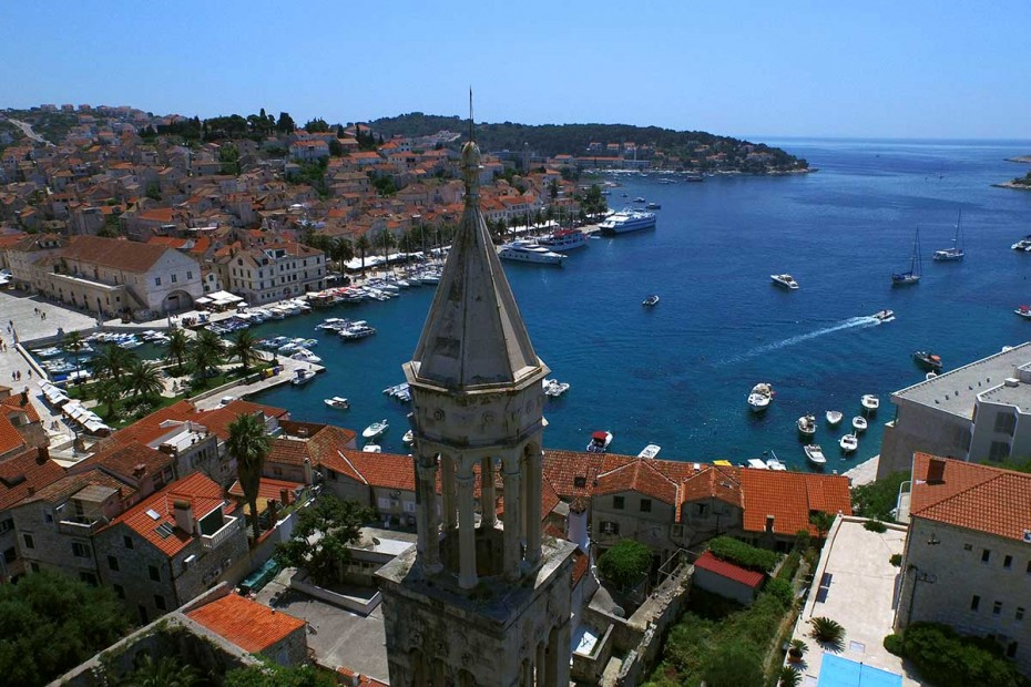 Historic city of Hvar