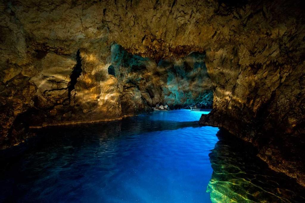 Visit Blue Cave on island Bisevo on Sugamans Blue Cave ...