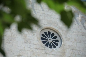 Rosette window in Trogir old town