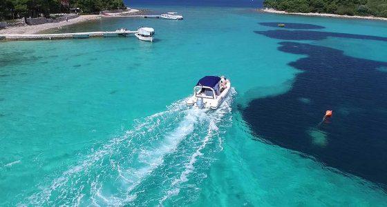 Scenic ride inside the Blue Lagoon