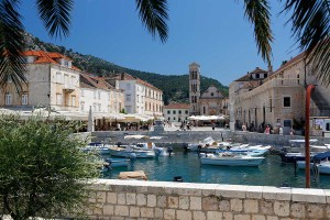 old port of town Hvar