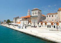 View On Trogir from Trogir Bridge