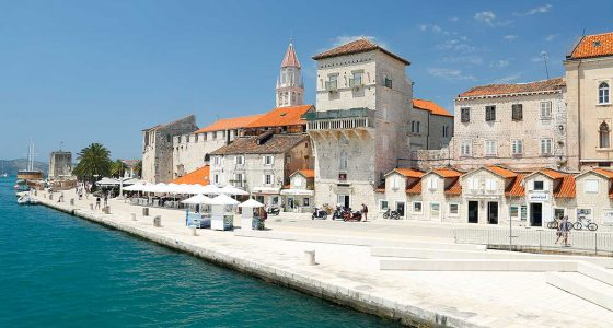 View On Trogir from Trogir Bridge