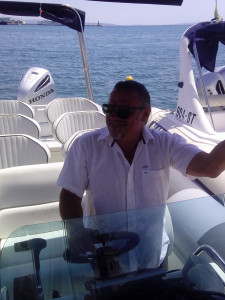 Ruben, Sugaman Tours skipper