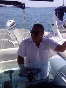 Ruben, Sugaman Tours skipper