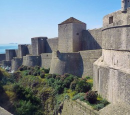 DubrovnikBastionsCityWalls