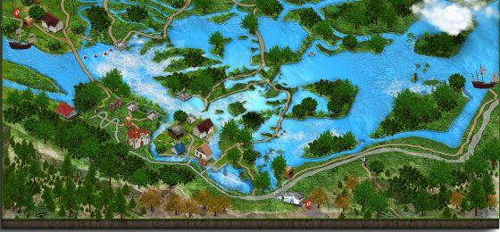 Skradinski buk, Krka national park, infographic