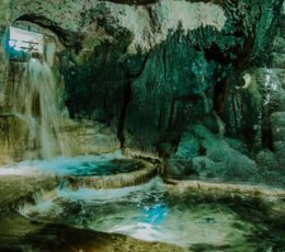 inside waterpools Krka ethno village