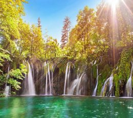 plitvice-waterfalls-sun-and-nature