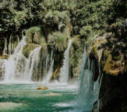 site of Skradinski Buk waterfalls