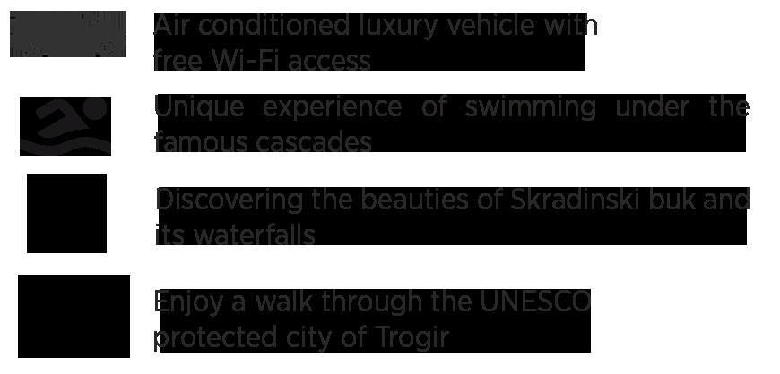 Krka tour from Split, highlights