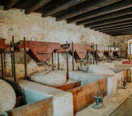 traditional grain mill