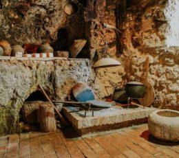traditional household in Krka village