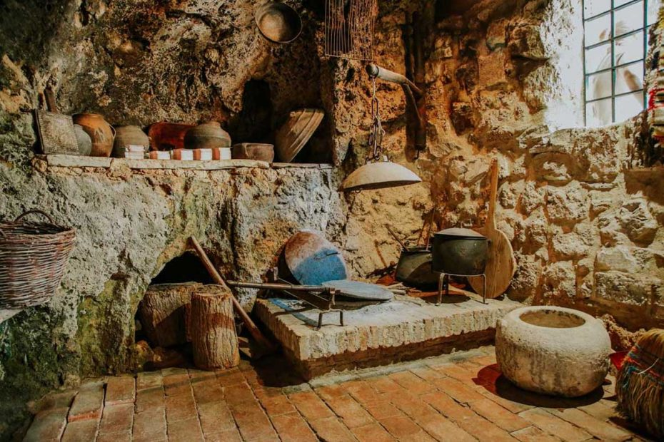 traditional household in Krka village