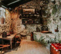 traditional village house-Skradiski buk ethno village