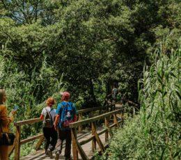 walking on the Krka educationa trail