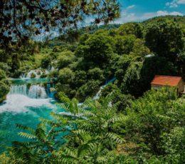 watermill and Skradinski buk falls