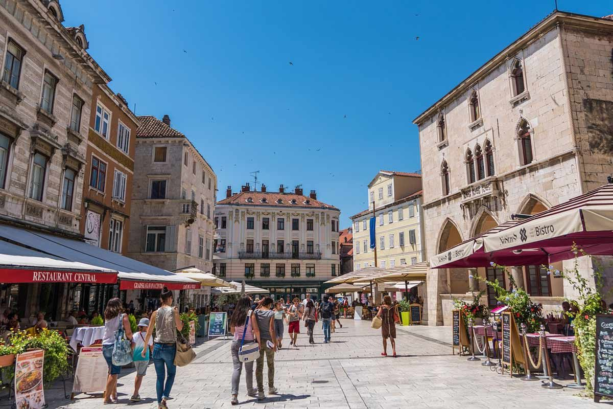 hostels in Split old town