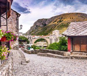 Mostar stone street