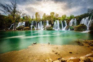breathtaking waterfalls, Kravice