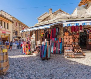 open street market Mostar