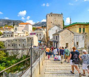 stone street in Mostar