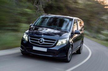 Mercedesbenzv-classsurlaroute