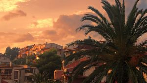 Makarska at dawn