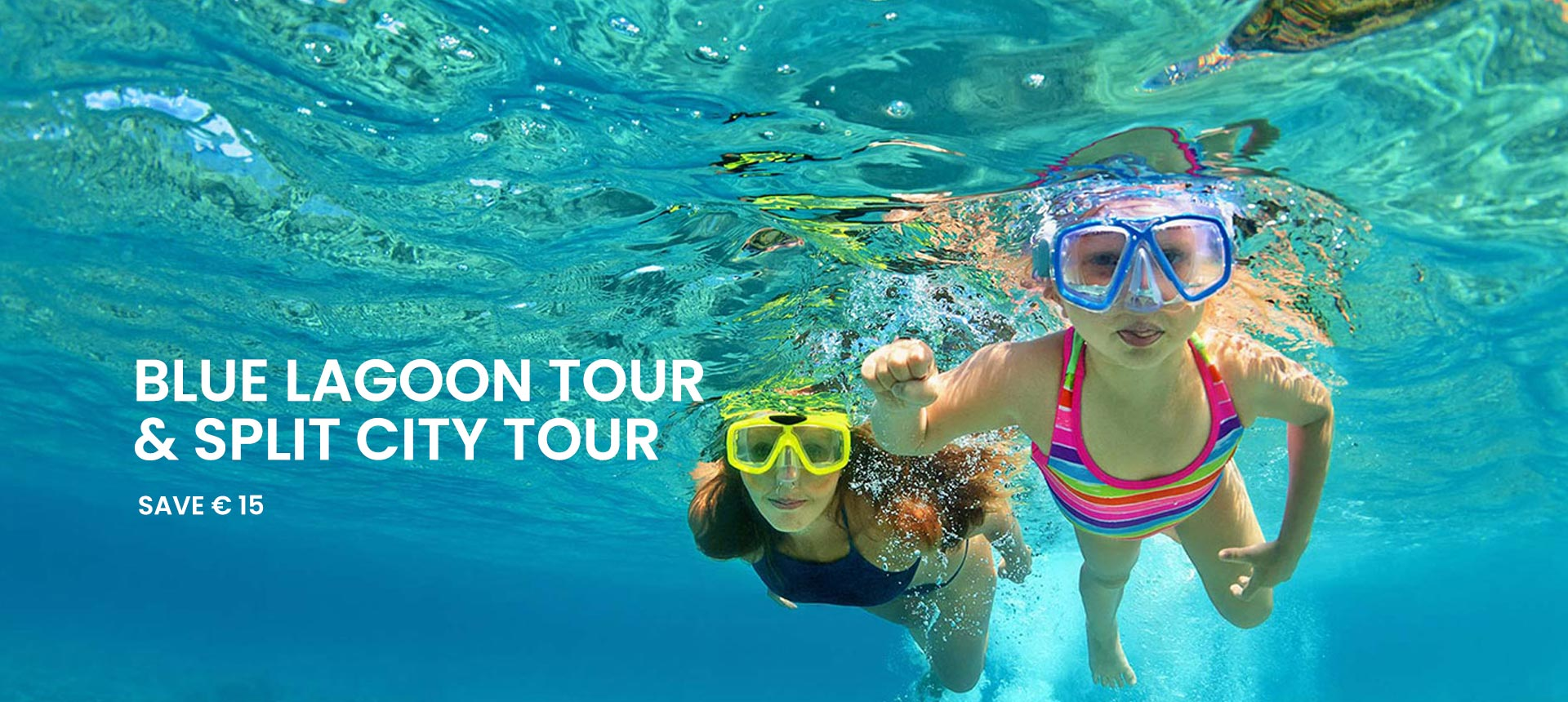 Blue Lagoon tour and Split walking tour