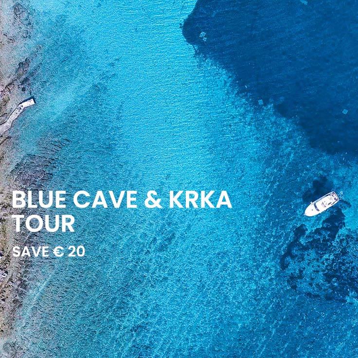 Blue cave & Krka Combo Saver tour