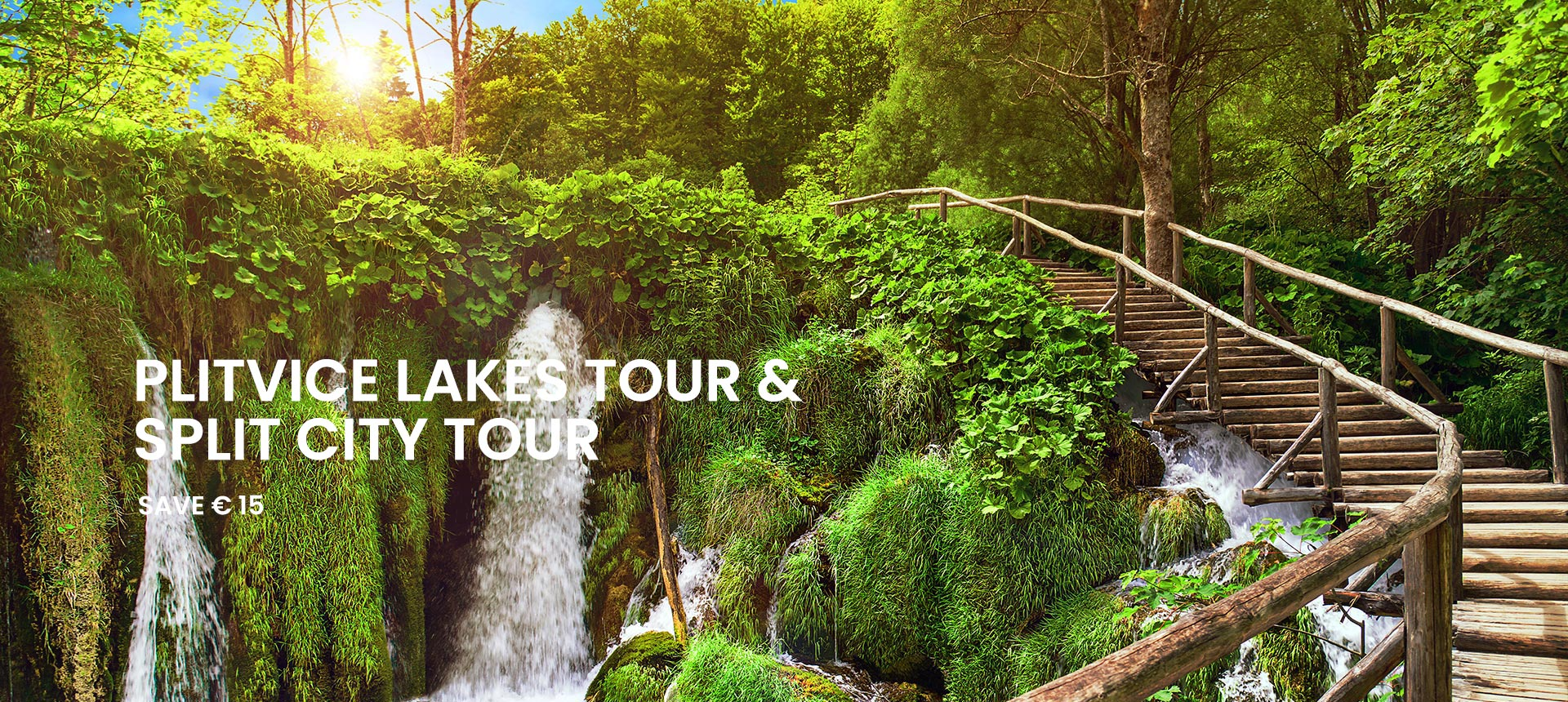 Plitvice lakes tour and Split city tour