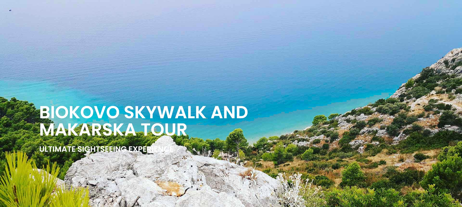 Biokovo skywalk tour