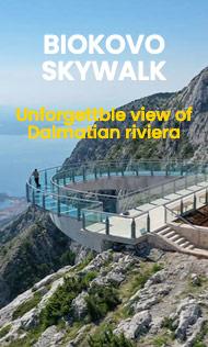 Biokovo skywalk tour