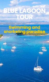 Blue Lagoon and Trogir Tour