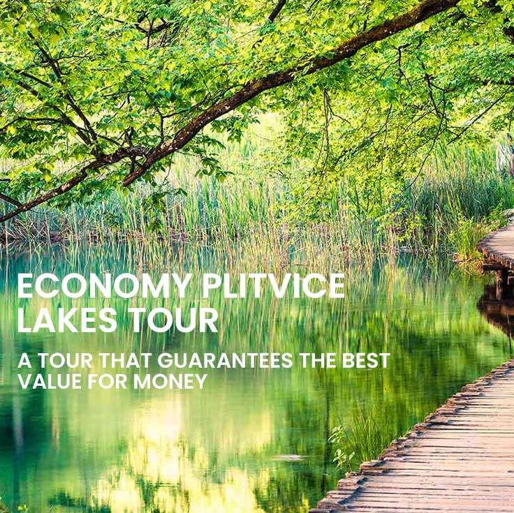 Economy tour to Plitvice lakes from Split