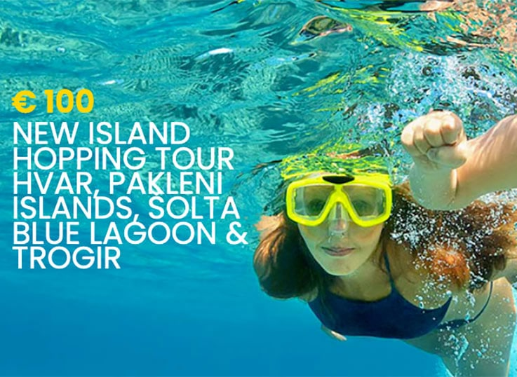 island hopping tour from split