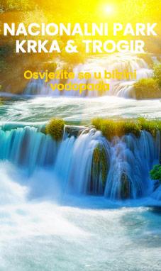 jednodnevni izlet Krka vodopadi i Trogir