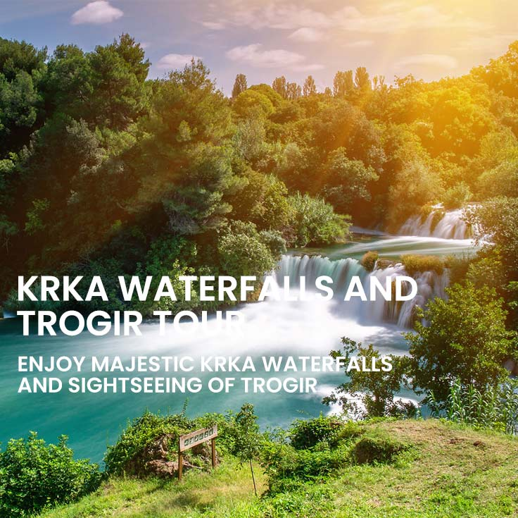 Krka and Trogir tour from Split